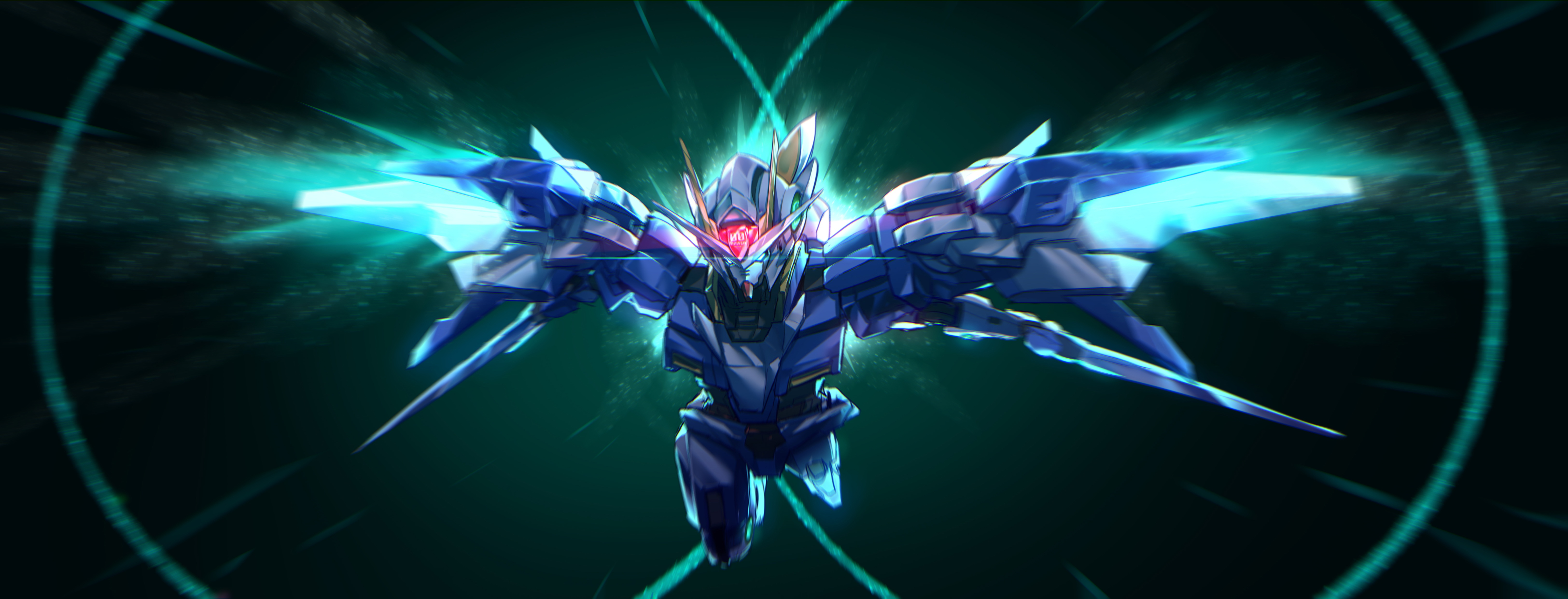 Mobile Suit Gundam 00 4k Ultra Hd Wallpaper Background Image
