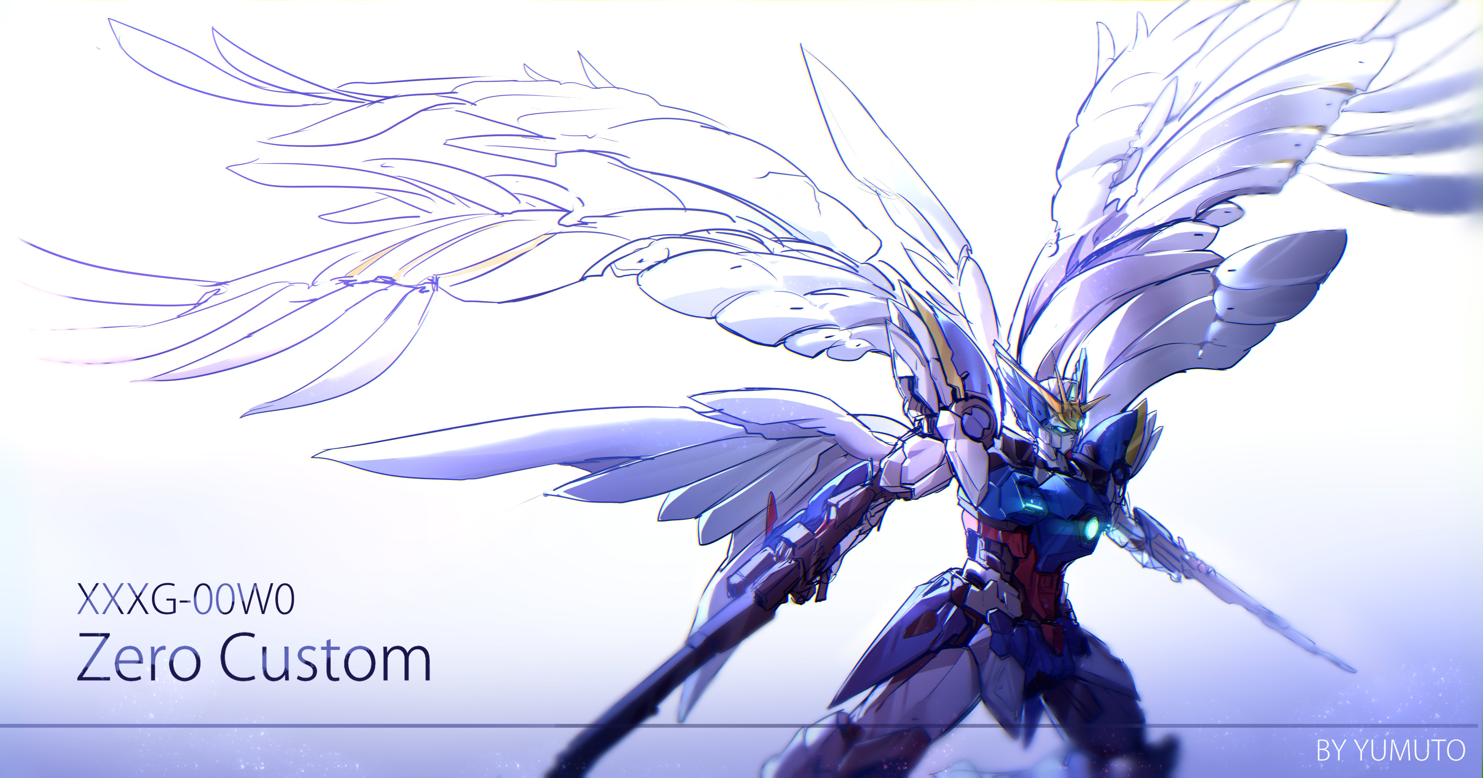 Mobile Suit Gundam Wing 4k Ultra Hd Wallpaper Background