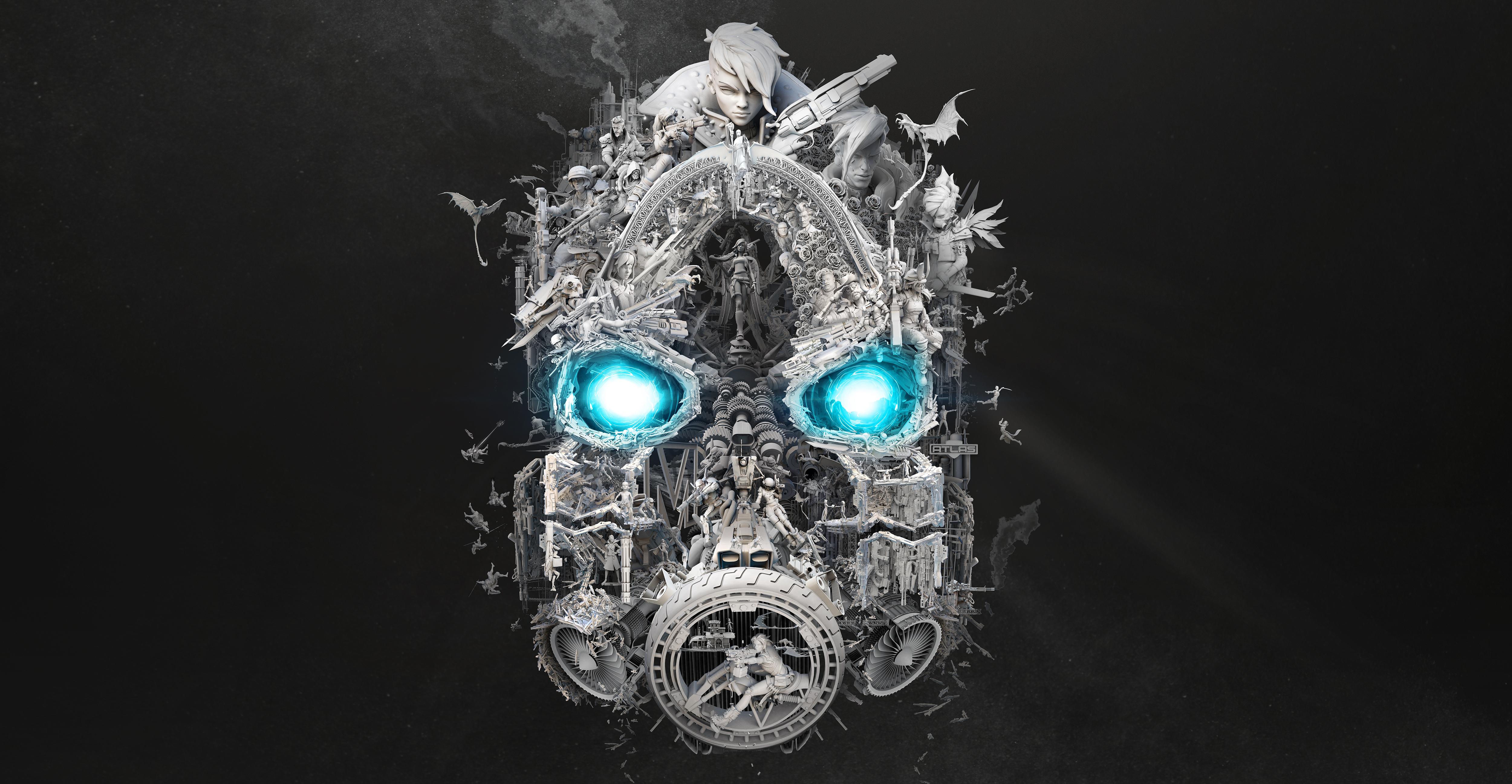 Borderlands 3 Mask of Mayhem 4k Ultra HD Wallpaper ...