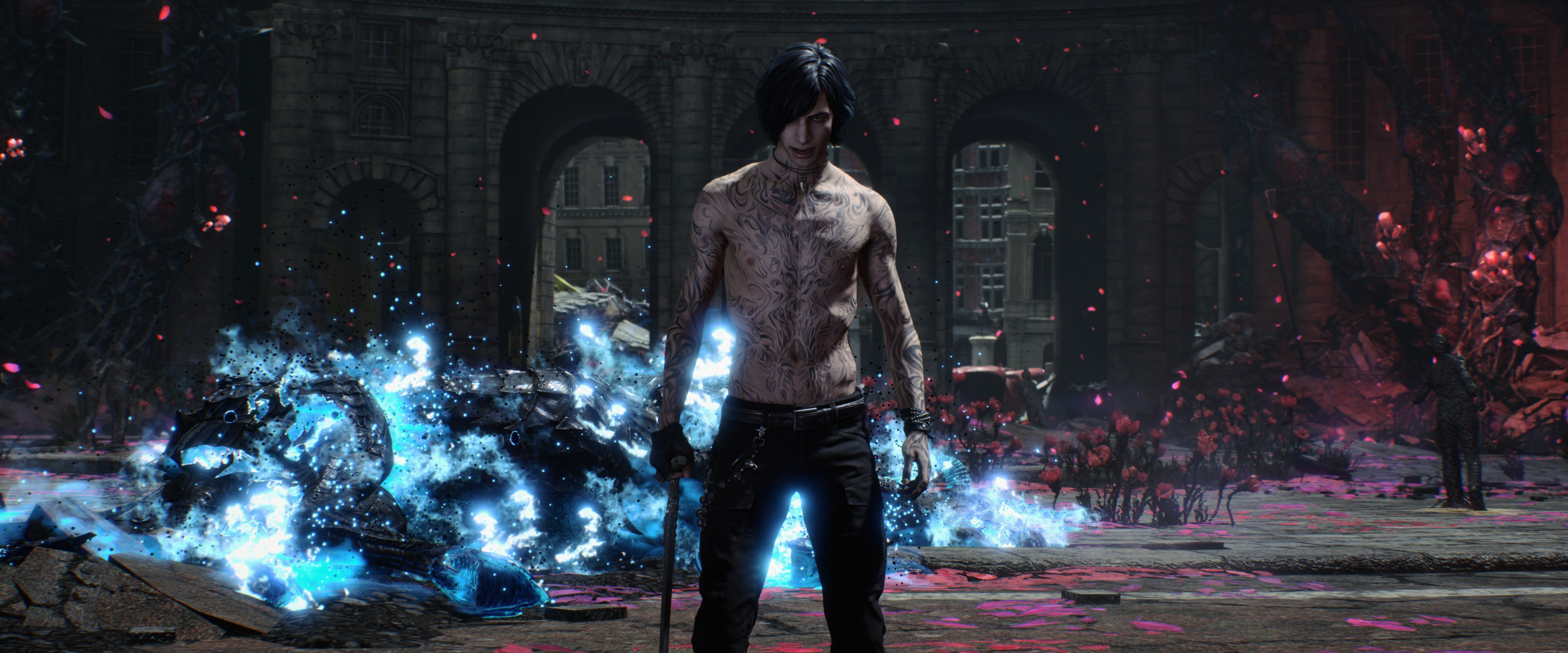 Devil May Cry 5 Hd Wallpaper Background Image 3840x1600 Id