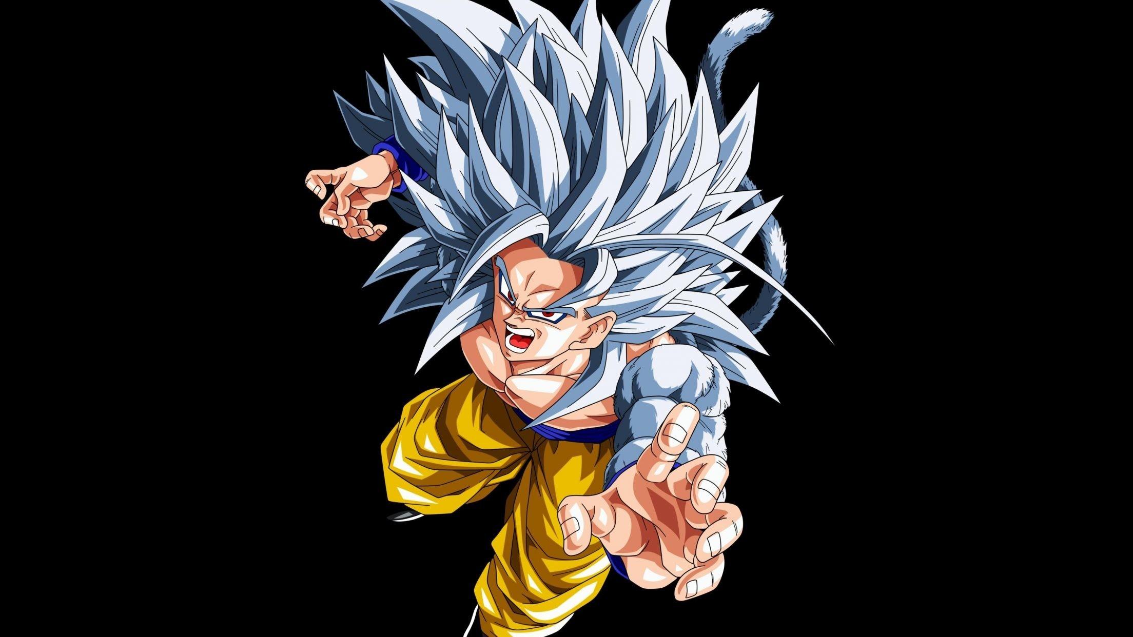 Goku Ssj5 Fondo De Pantalla Hd Fondo De Escritorio