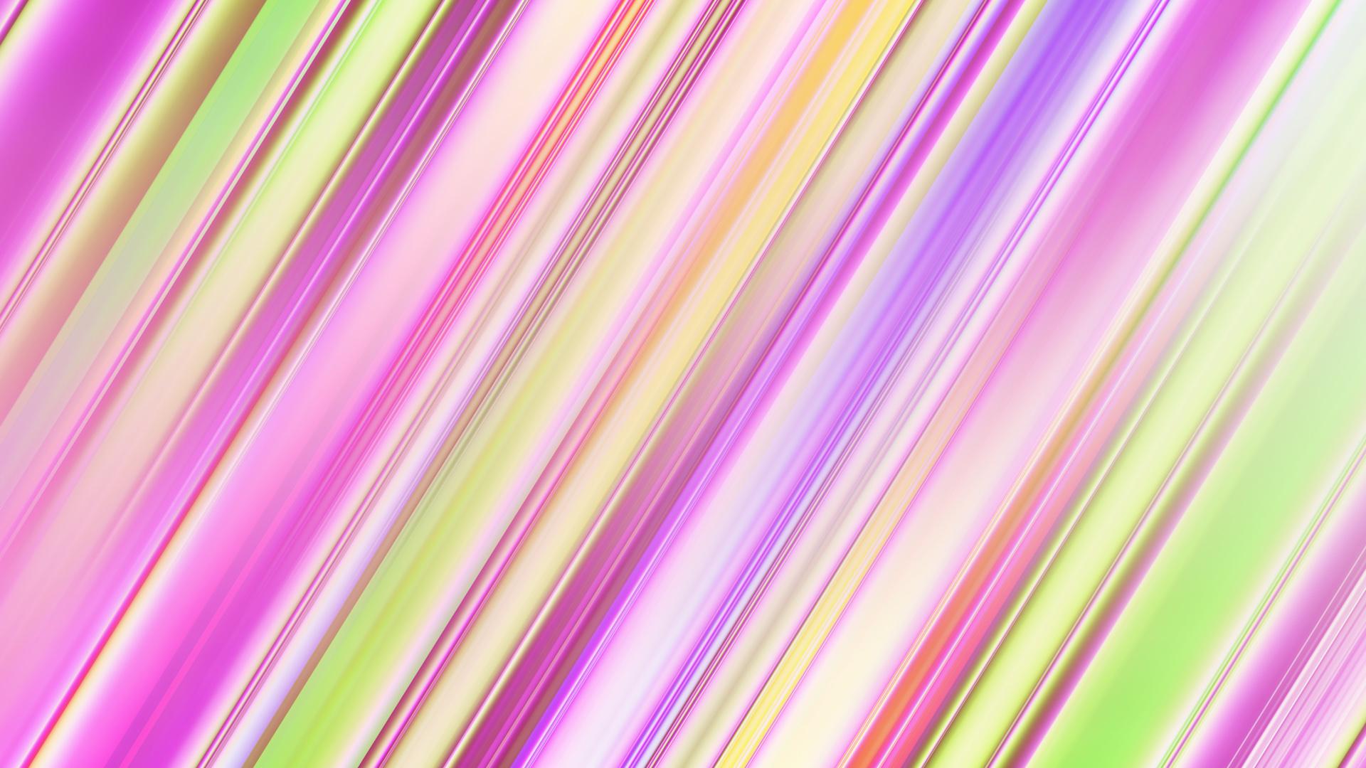 Pastel Gradient Lines Hd Wallpaper Hintergrund 1920x1080