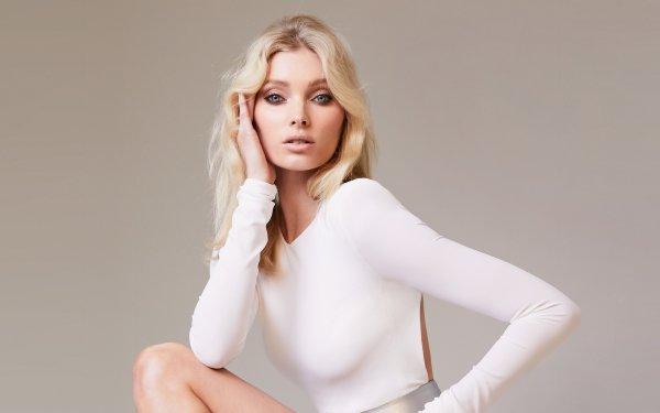 Kvinnor Elsa Hosk Models Sweden Swedish Model Blonde Blue Eyes HD Wallpaper | Background Image