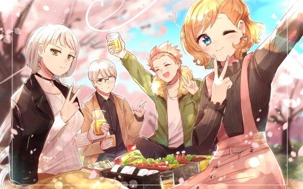 Anime Kakegurui Itsuki Sumeragi Kaede Manyuda HD Wallpaper | Background Image