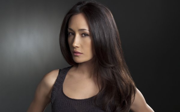 Celebrity Maggie Q Actresses United States Actress Face Brunette Brown Eyes Long Hair HD Wallpaper | Background Image