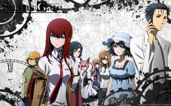 Anime Steins;Gate 0 Kurisu Makise Rintaro Okabe Mayuri Shiina Suzuha Amane Luka Urushibara HD Wallpaper | Background Image