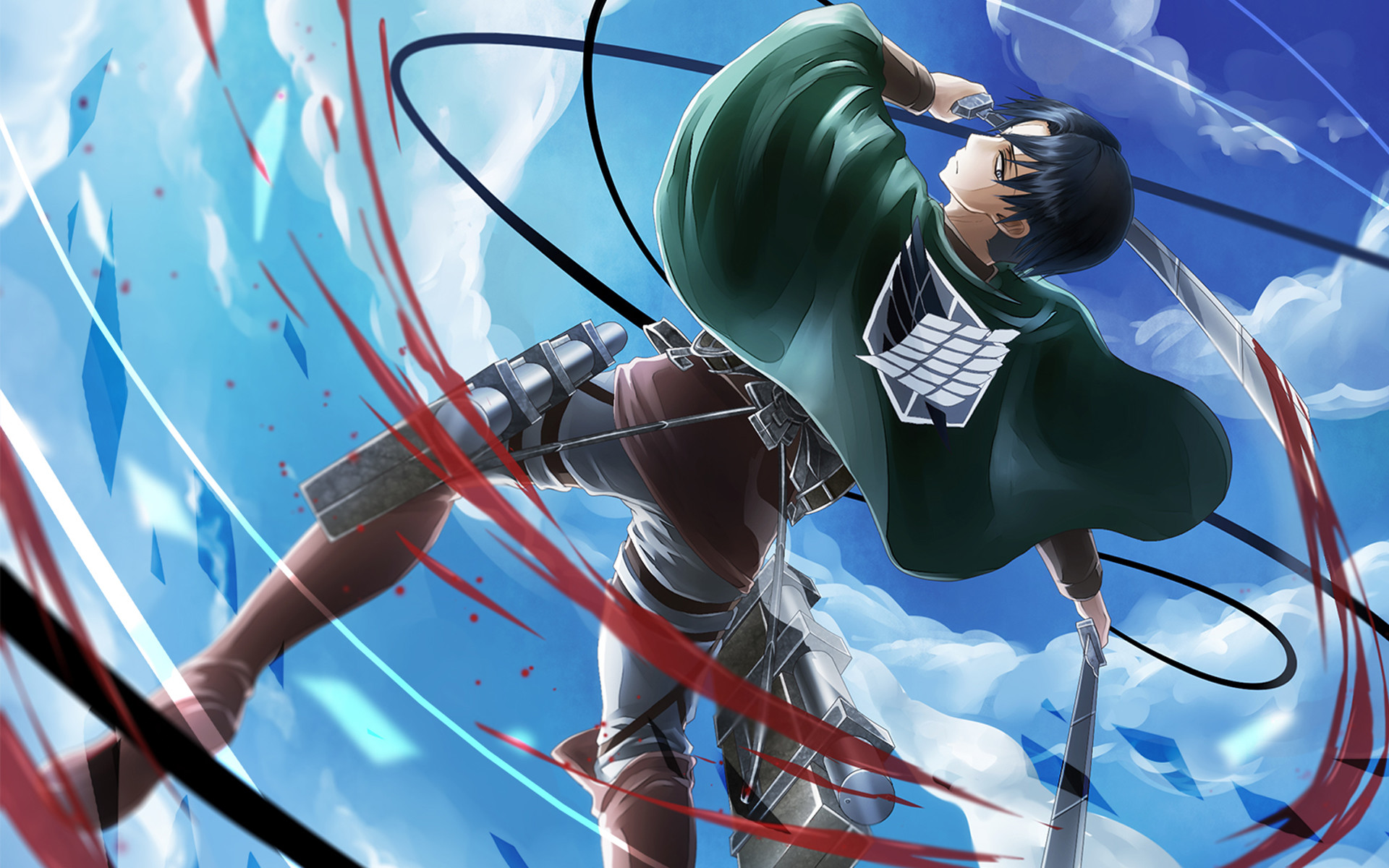 Attack On Titan Hd Wallpaper Background Image 1920x1200 Id 1013693 Wallpaper Abyss