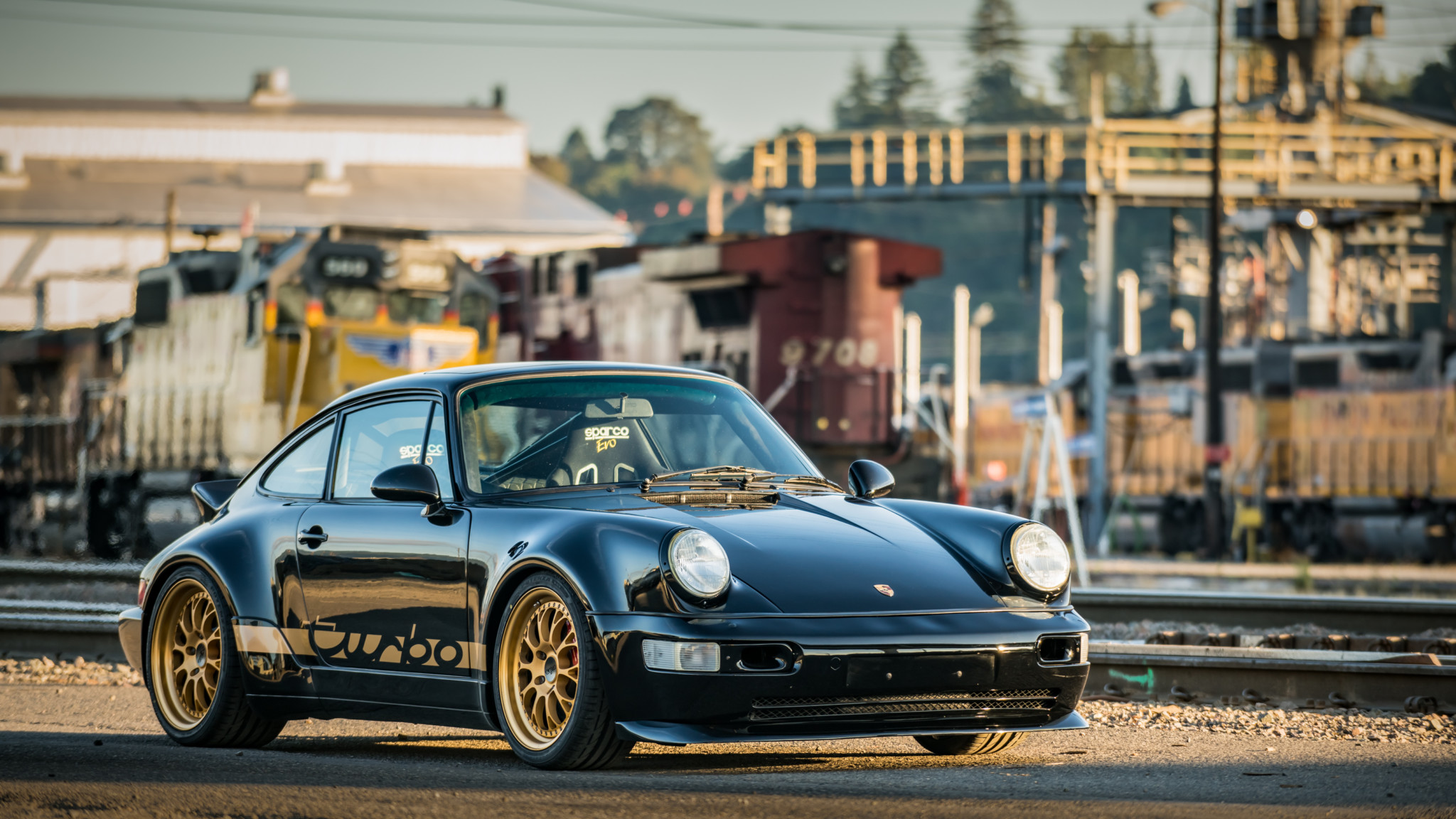 1991 Porsche 964 Turbo Hd Wallpaper Background Image 2048x1152 Id 1018380 Wallpaper Abyss