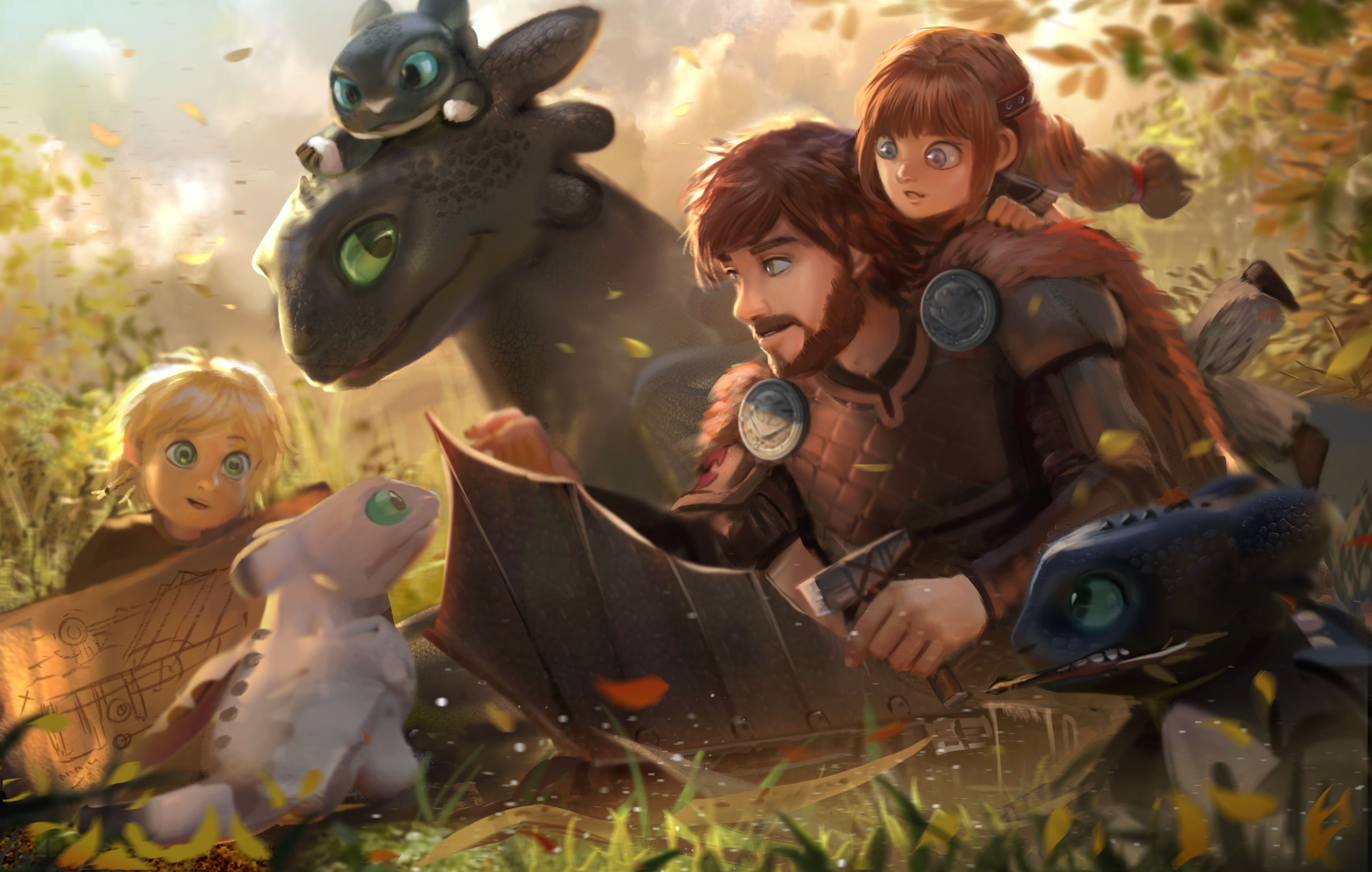 How To Train Your Dragon The Hidden World Hd Wallpaper