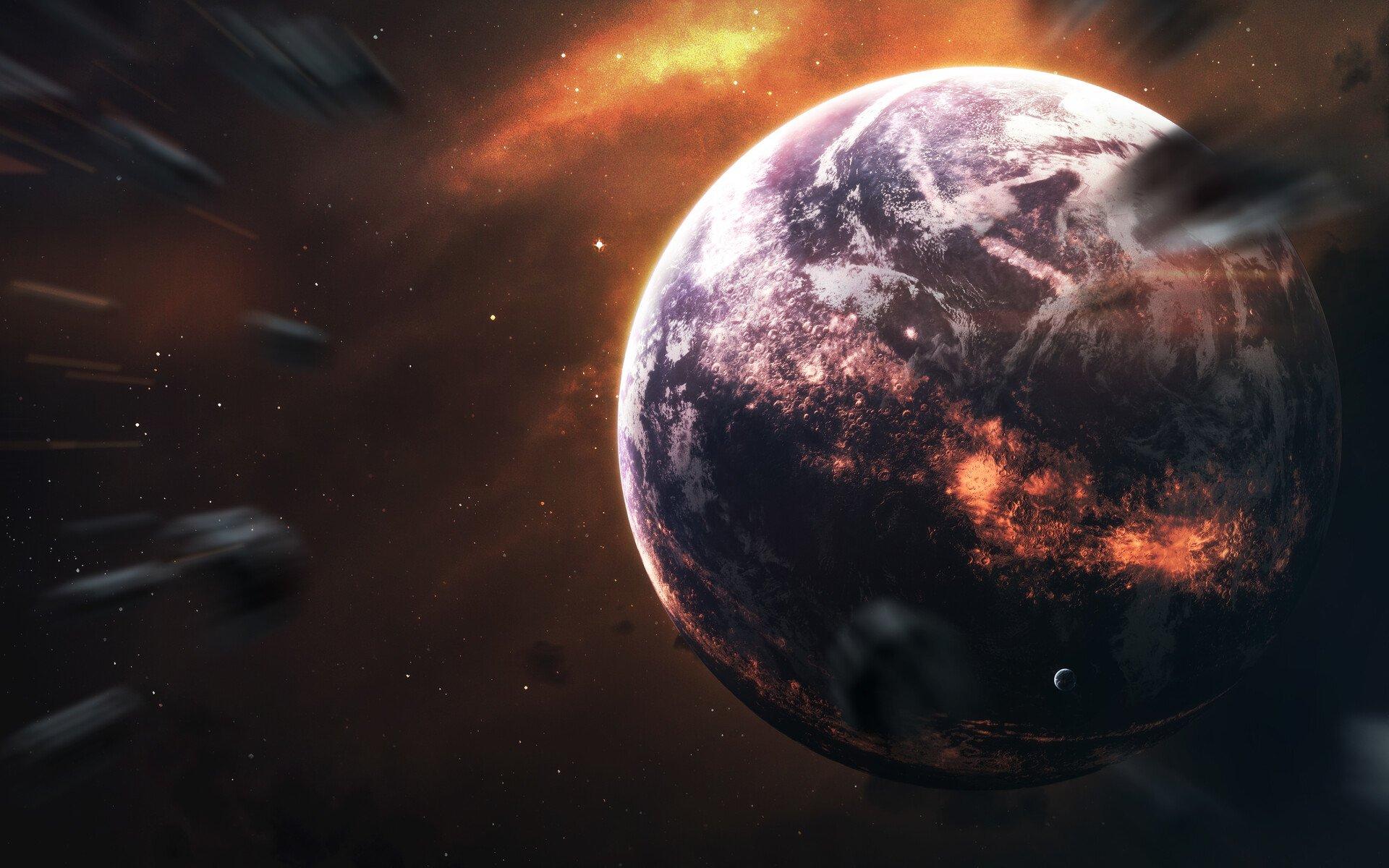 Dying Earth Fondo De Pantalla Hd Fondo De Escritorio