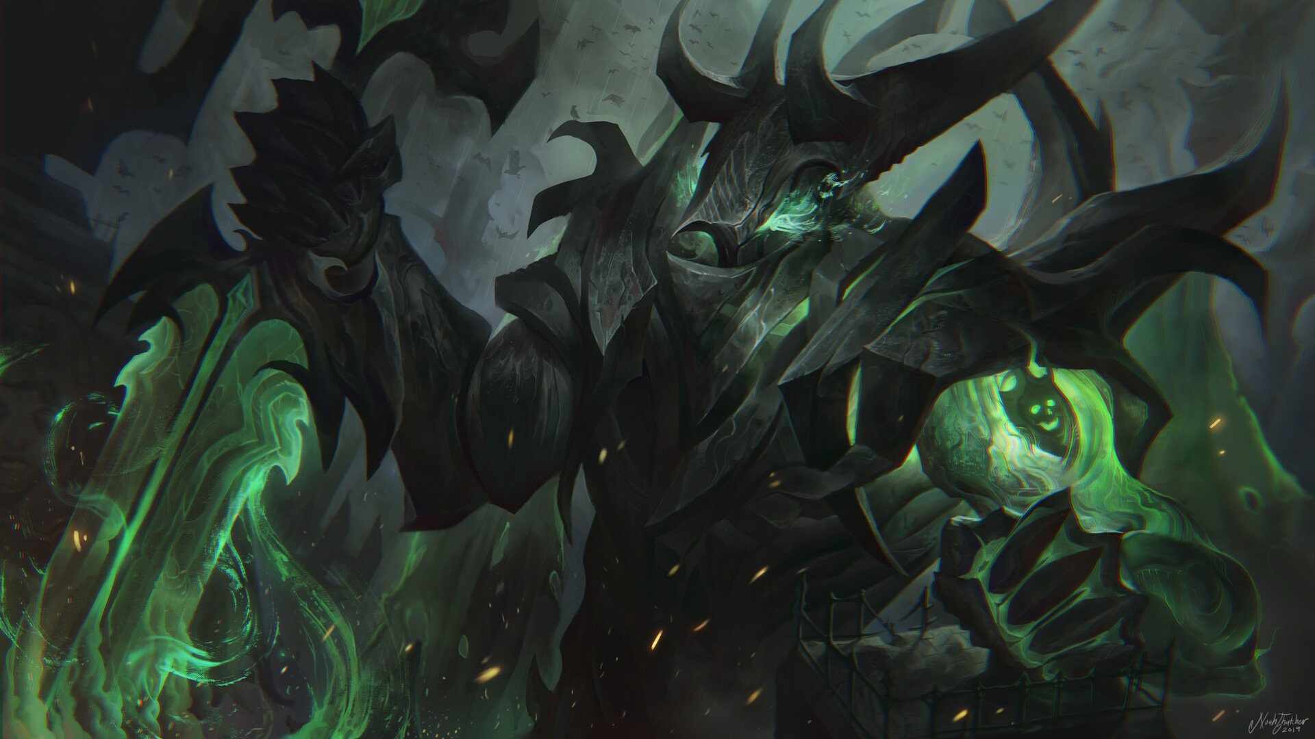 Gravelord Aatrox Fanart HD Wallpaper ...
