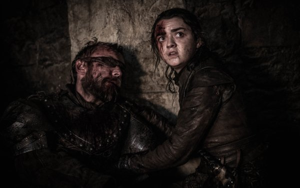 TV Show Game Of Thrones Beric Dondarrion Richard Dormer Arya Stark Maisie Williams HD Wallpaper | Background Image