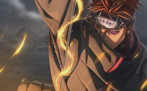 Anime Naruto Yahiko Pain Akatsuki Rinnegan Fondo de pantalla HD | Fondo de Escritorio