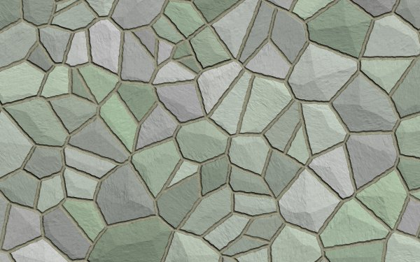 Abstract Texture Pattern Mosaic Green Grey HD Wallpaper | Background Image