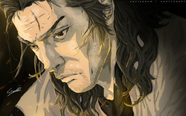 Anime Vagabond Miyamoto Musashi HD Wallpaper | Background Image