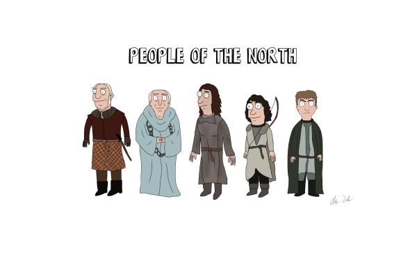 TV Show Game Of Thrones Maester Luwin Osha Meera Reed Jojen Reed HD Wallpaper | Background Image
