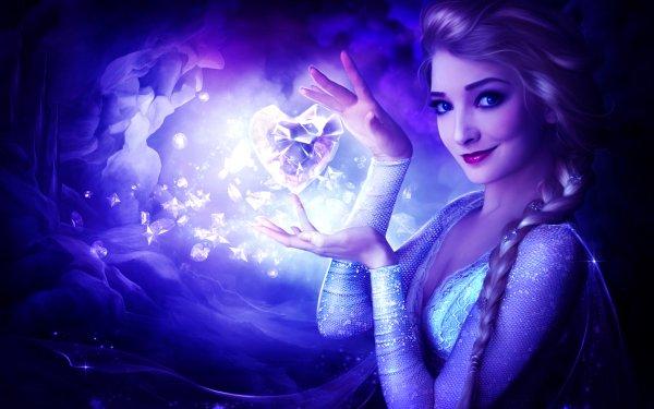 Women Cosplay Frozen Elsa HD Wallpaper   Background Image