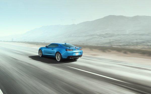 Vehicles Camaro SS Chevrolet Camaro SS Chevrolet Camaro Chevrolet Car Blue Car Muscle Car HD Wallpaper   Background Image