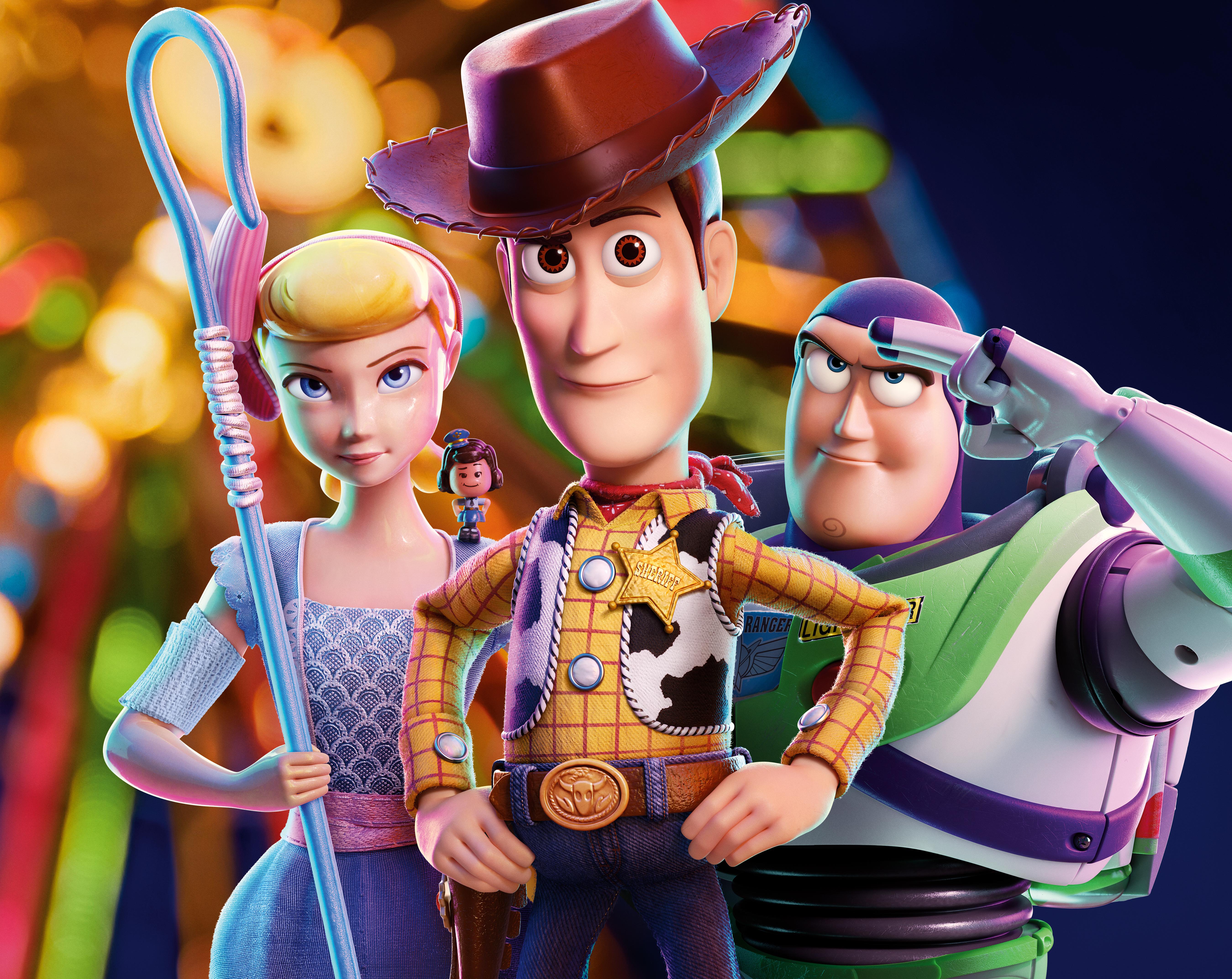 Toy Story 4 5k Retina Ultra Hd Wallpaper Hintergrund