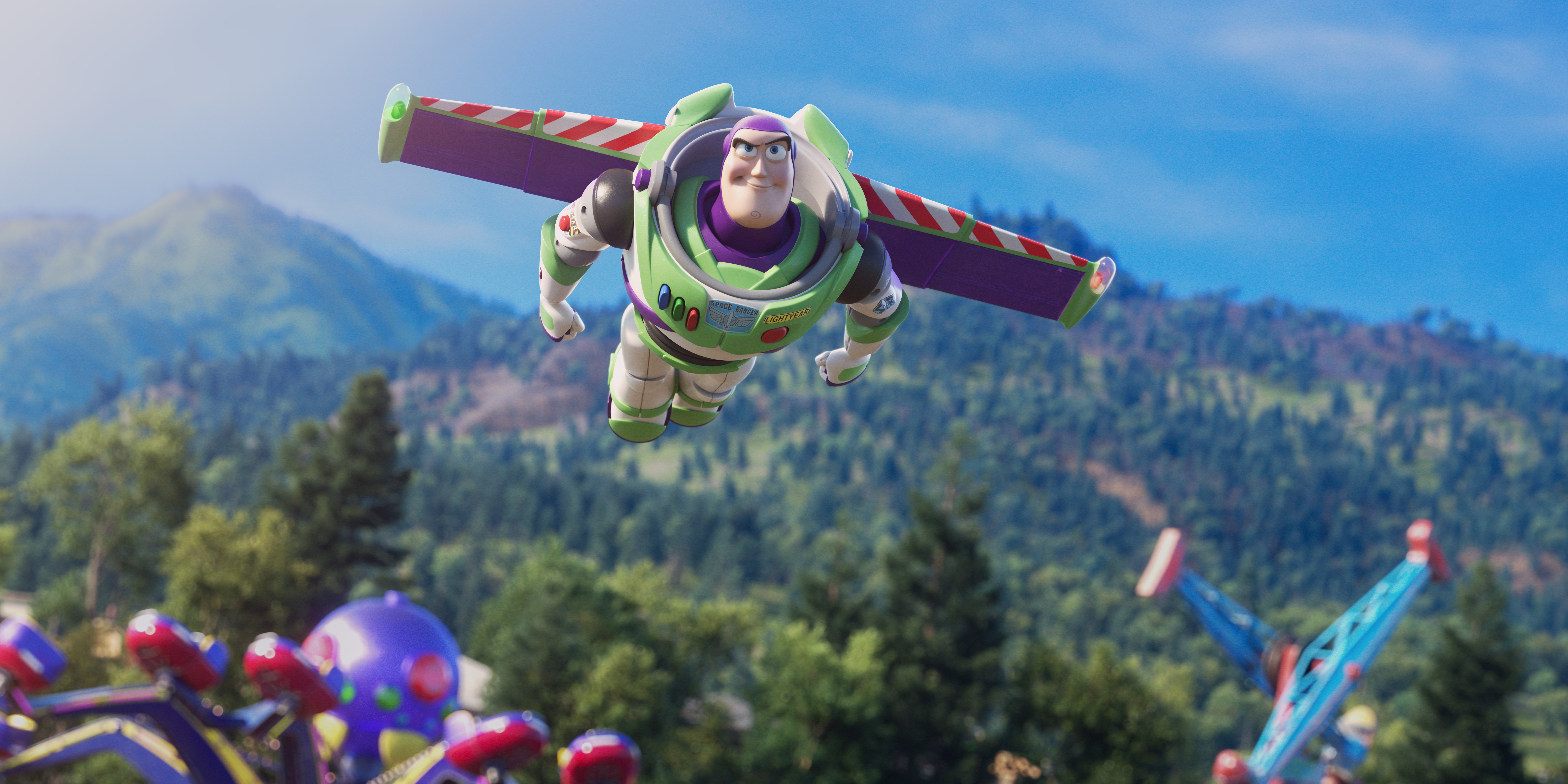 Toy Story 4 5k Retina Ultra Hd Wallpaper Background Image 6144x3072 Id 1025972 Wallpaper Abyss