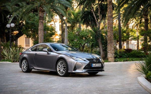 Véhicules Lexus RC  Lexus Voiture Silver Car Compact Car Luxury Car Fond d'écran HD | Image
