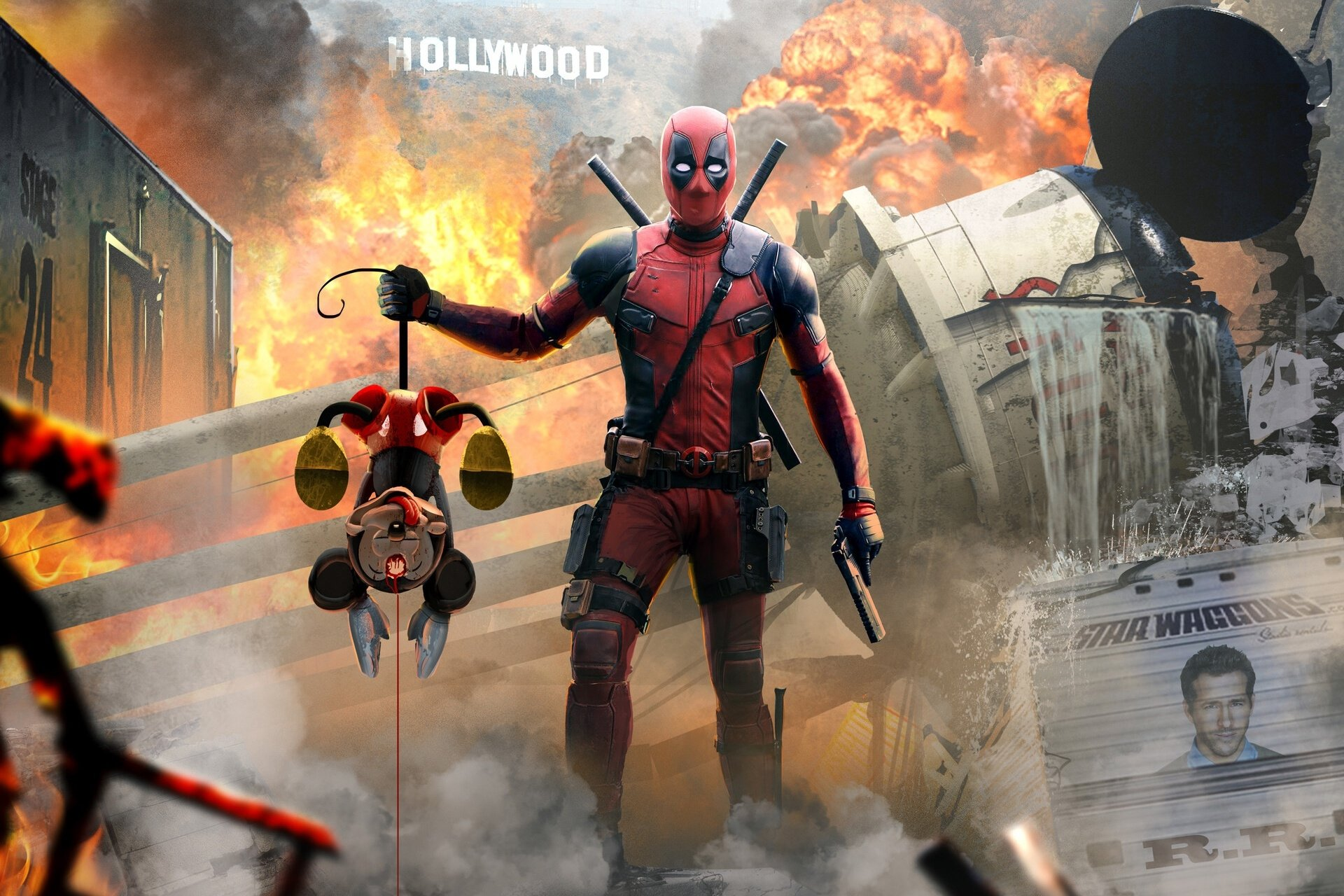 Deadpool Hd Wallpaper Background Image 1920x1280 Id