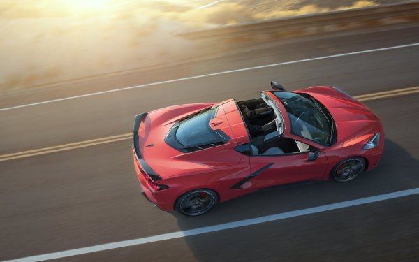 Vehicles Chevrolet Corvette (C8) Chevrolet Corvette Chevrolet Corvette Car Red Car Sport Car Supercar HD Wallpaper | Background Image