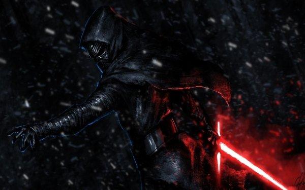 Sci Fi Star Wars Kylo Ren Lightsaber Star Wars Episode VII: The Force Awakens HD Wallpaper | Background Image