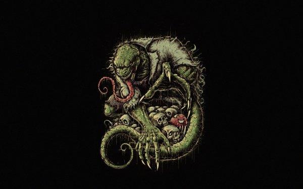 Comics Marvel Comics Lizard Skull HD Wallpaper | Background Image