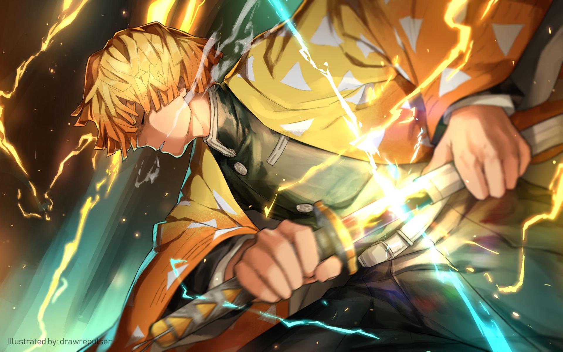 Demon Slayer Kimetsu No Yaiba Hd Wallpaper Background Image