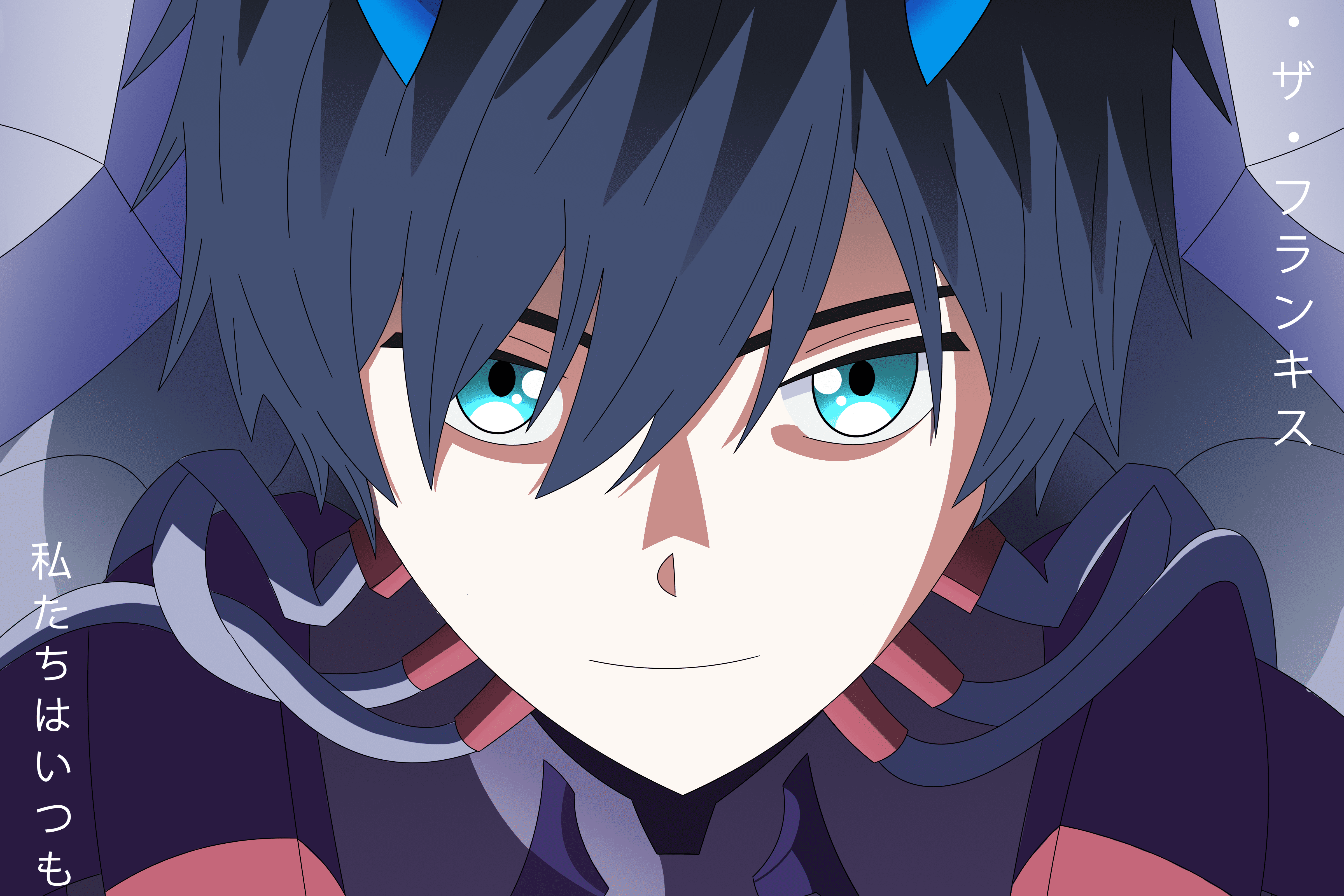 Darling In The Franxx 4k Ultra Hd Wallpaper Background Image