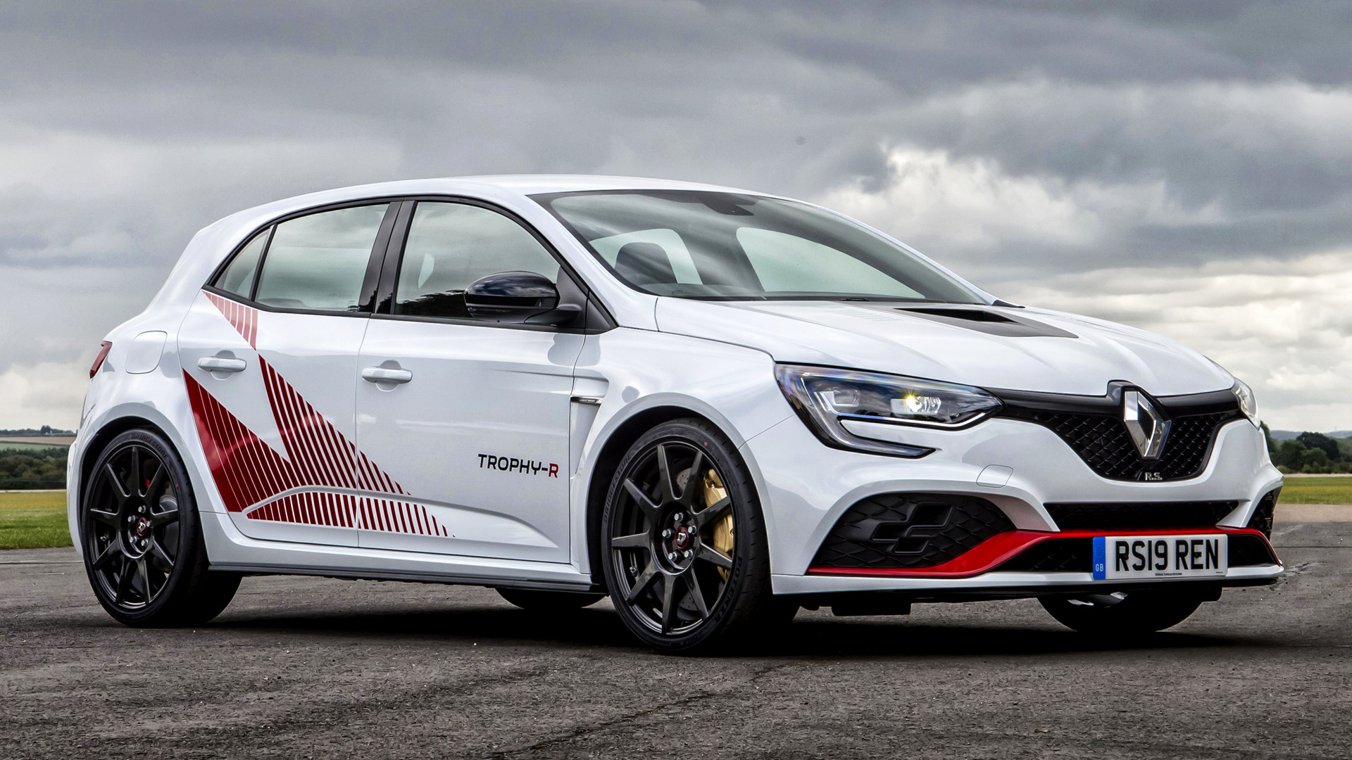 2019 Renault Megane Rs Trophy R Hd Wallpaper Background Image 1920x1080 Id 1045358 Wallpaper Abyss