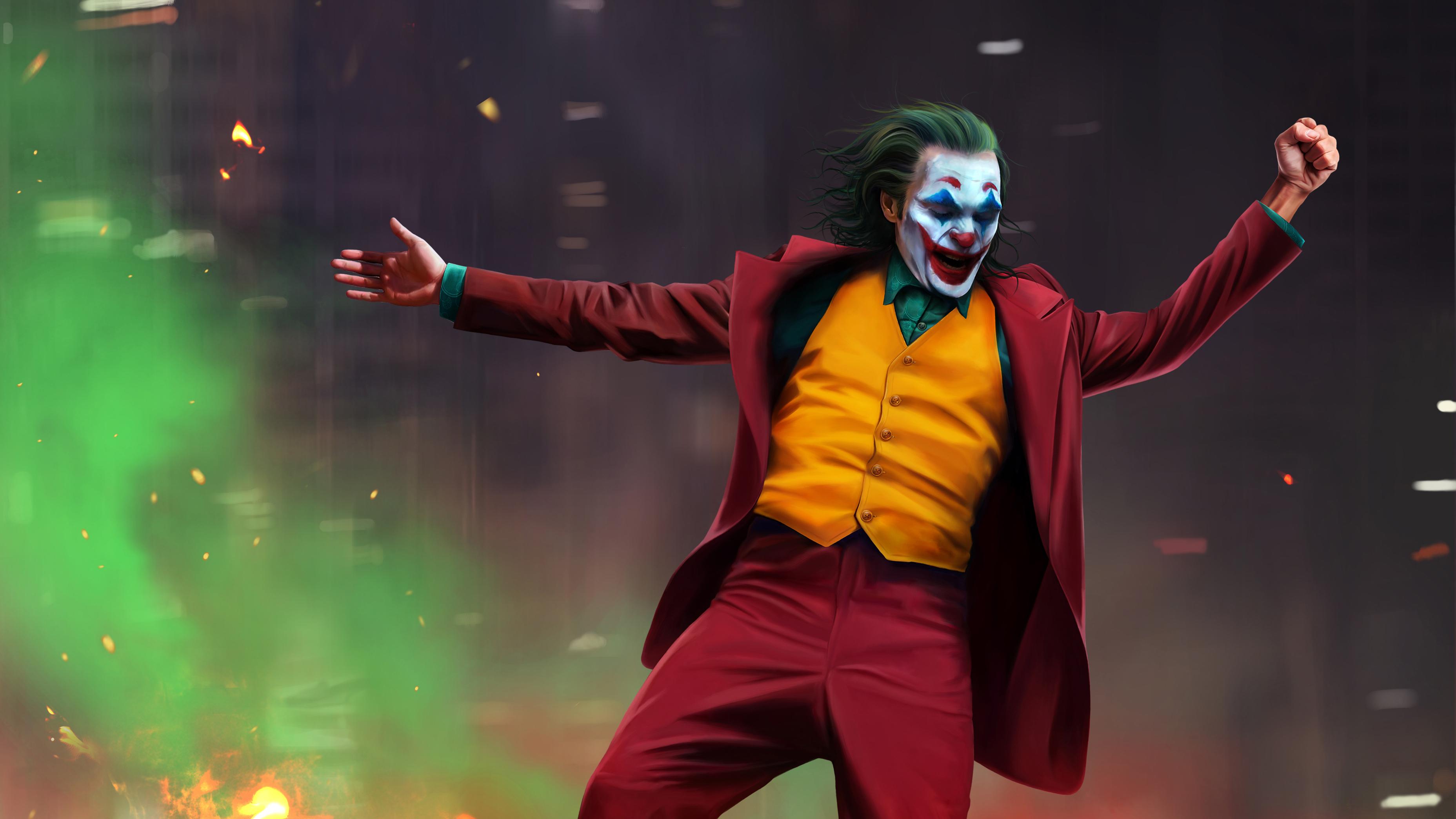 Joaquin Phoenix As The Joker Hd Wallpaper Hintergrund
