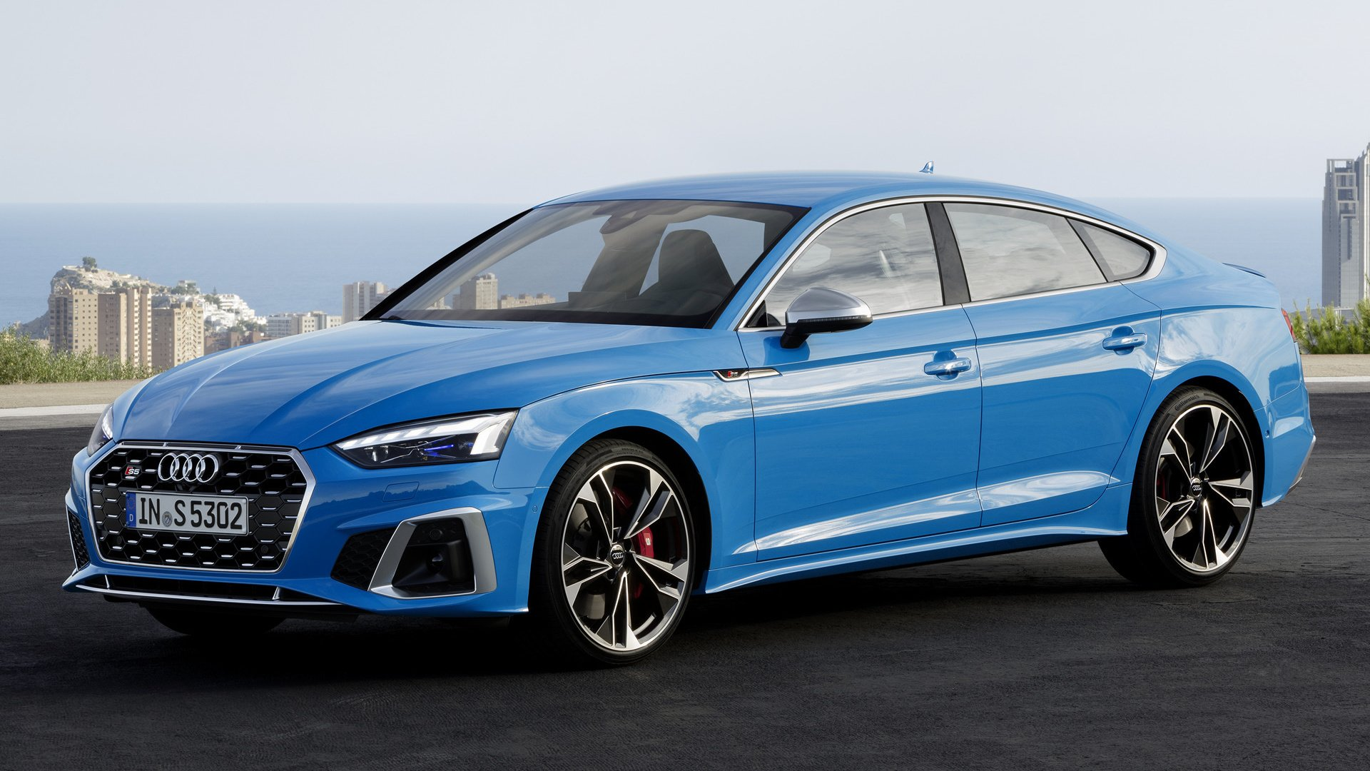 2020 audi s5 sportback hd wallpaper  background image