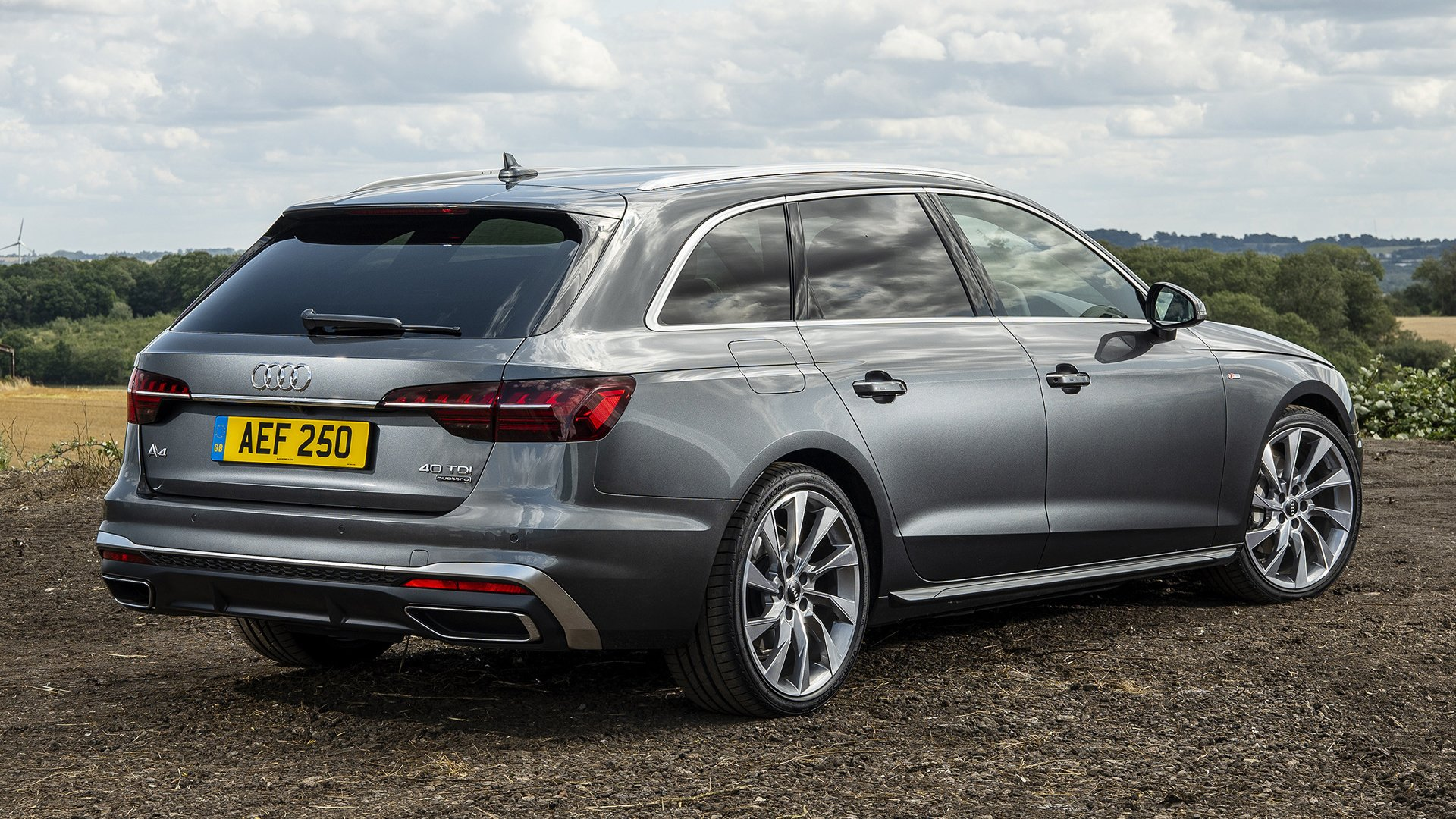 2019 Audi A4 Avant S Line Hd Wallpaper Background Image