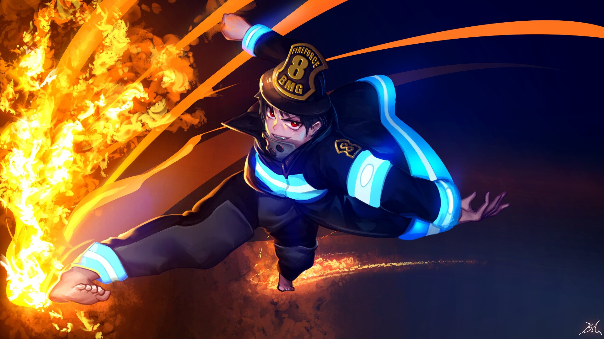 Fire Force Hd Wallpaper Background Image 1920x1080 Id 1049309 Wallpaper Abyss Hd wallpapers and background images. fire force hd wallpaper background