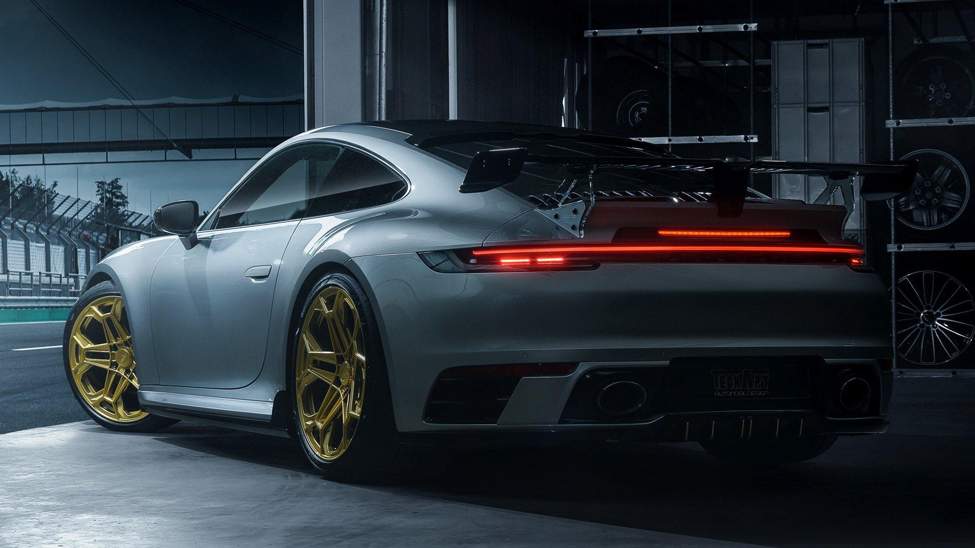2019 Porsche 911 992 Carrera S By Techart Fondo De