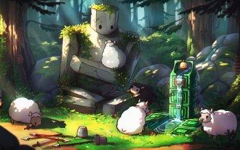 3 Water Sheep (Minecraft) Fondos de
