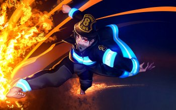 58 Fire Force Hd Wallpapers Background Images Wallpaper Abyss