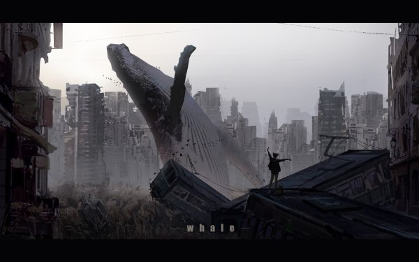 Anime Original Post Apocalyptic HD Wallpaper   Background Image