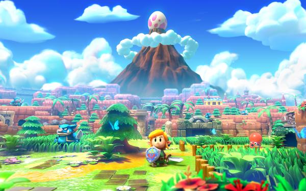 Video Game The Legend of Zelda: Link's Awakening (Nintendo Switch) The Legend of Zelda: Link's Awakening Link HD Wallpaper | Background Image