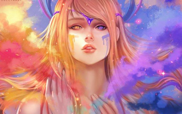 Fantaisie Femmes Mystical Heterochromia Fond d'écran HD | Image