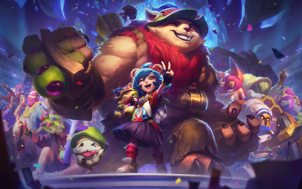 Video Game League Of Legends Teemo Annie Poro HD Wallpaper | Background Image