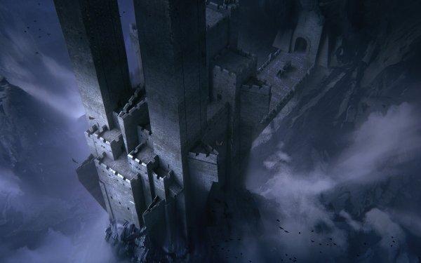 Fantasy Castle Castles Medieval HD Wallpaper | Background Image