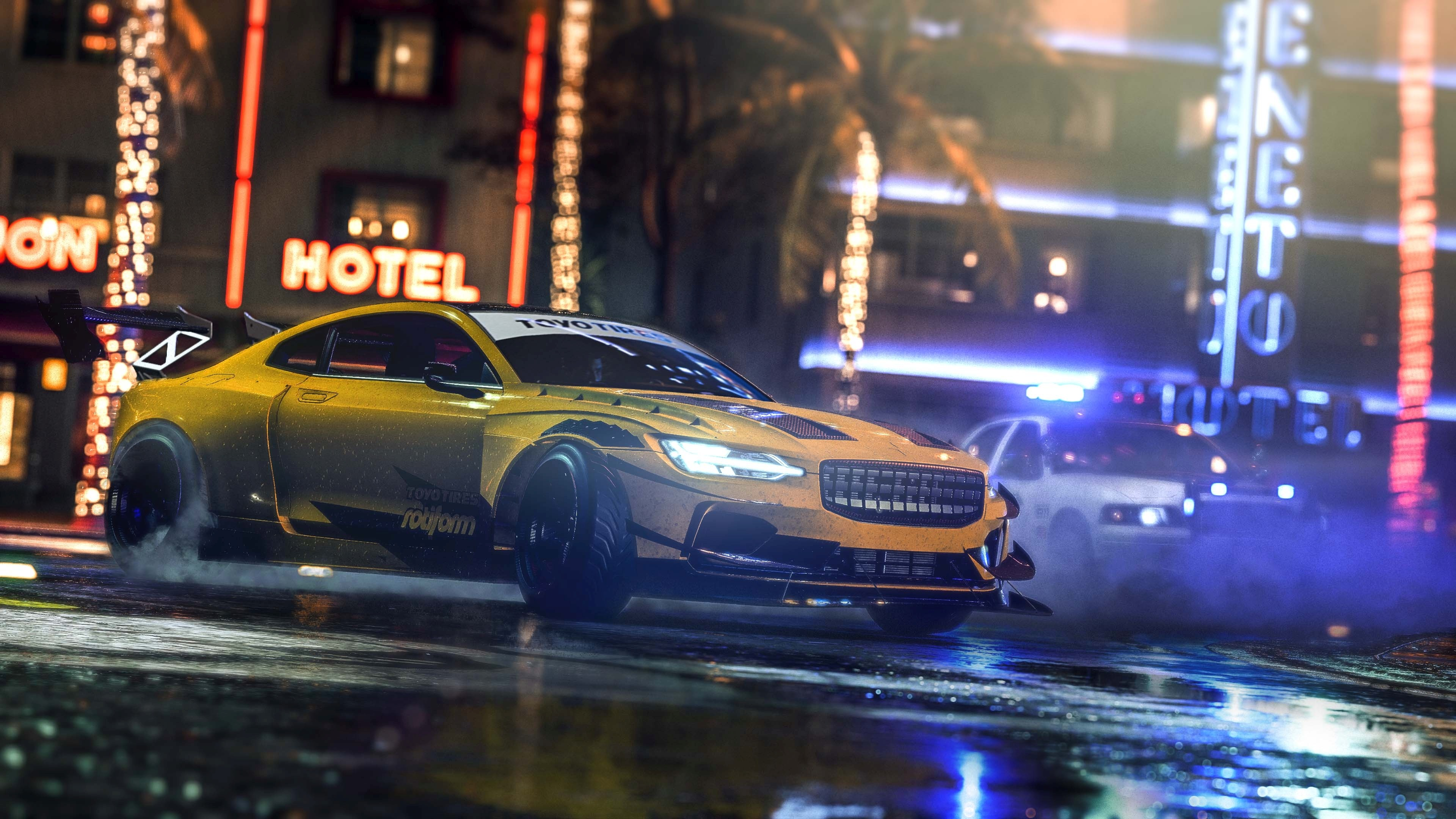 Need For Speed Heat 4k Ultra Hd Wallpaper Background Image
