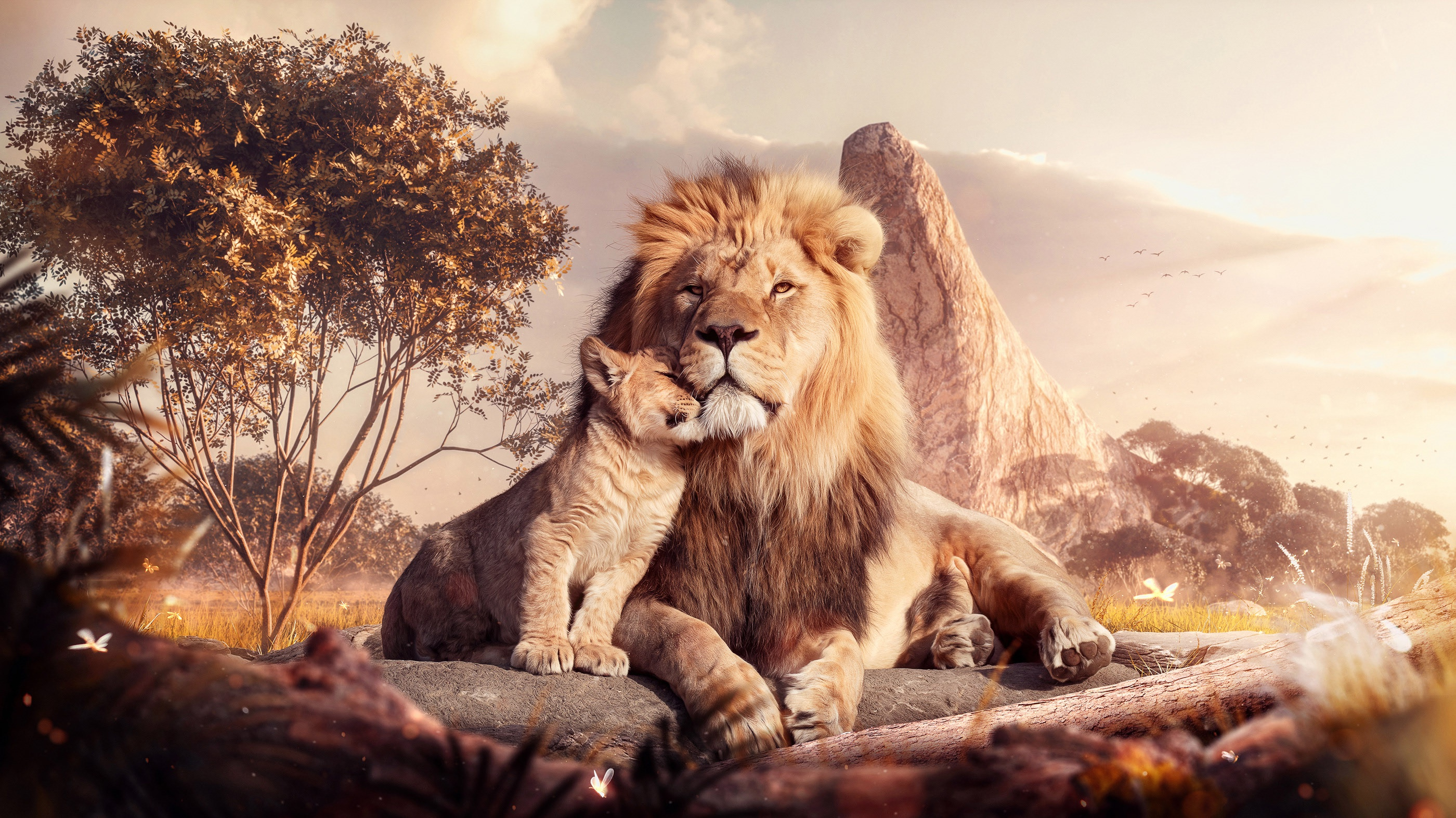 The Lion King (2019) HD Wallpaper | Background Image ...