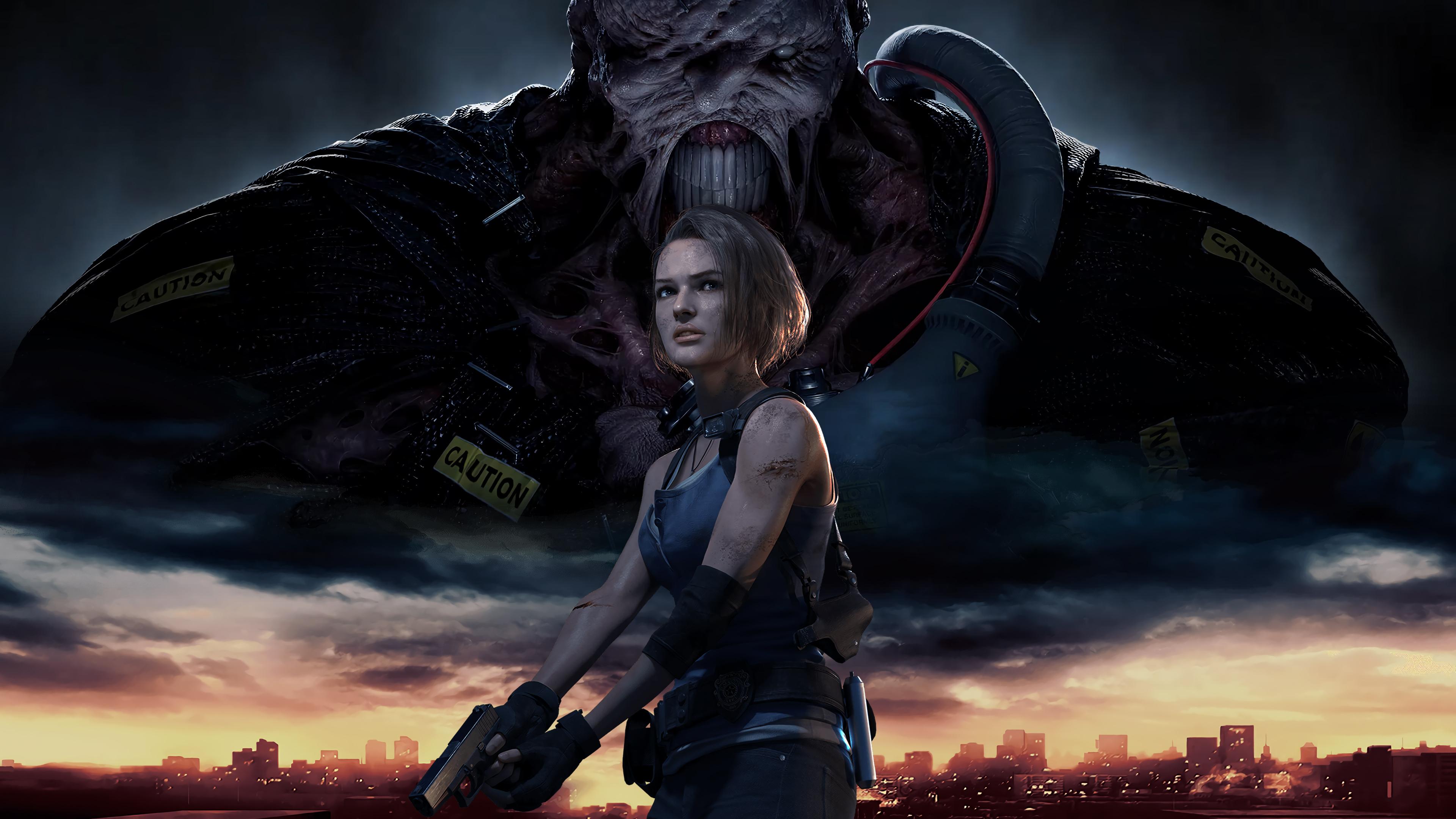 Resident Evil 3 2020 4k Ultra Fondo De Pantalla Hd Fondo