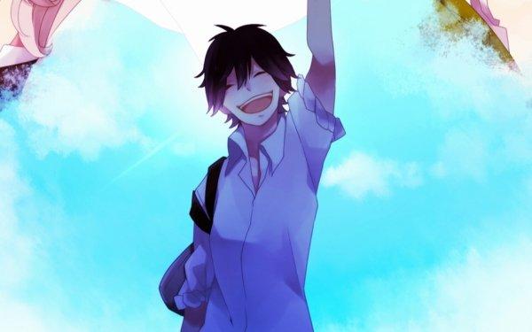Anime Orange Kakeru Naruse HD Wallpaper | Background Image