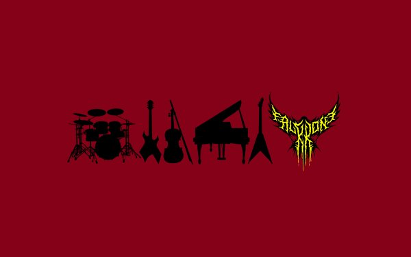 Music FalKKonE Metal Red HD Wallpaper | Background Image