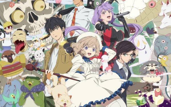 Anime Kyokou Suiri Kotoko Iwanaga Saki Mihara Kojin Nanase Kurou Sakuragawa Terada HD Wallpaper   Background Image